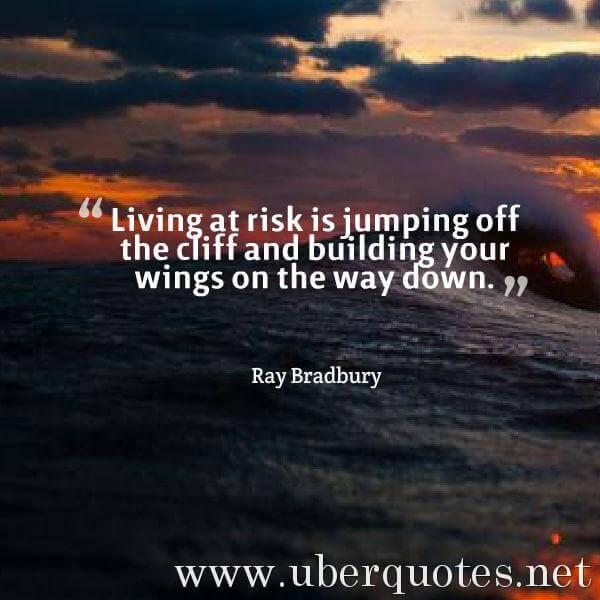 Chance quotes by Ray Bradbury, UberQuotes
