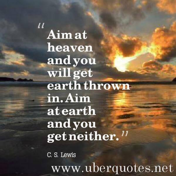 Religion quotes by C. S. Lewis, UberQuotes