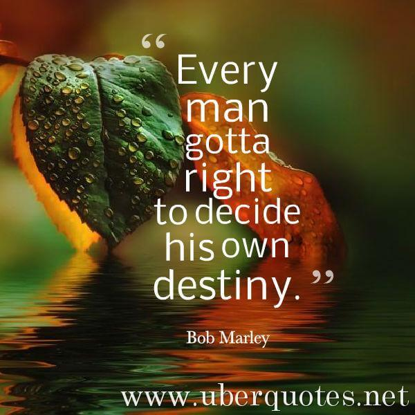 Future quotes by Bob Marley, UberQuotes