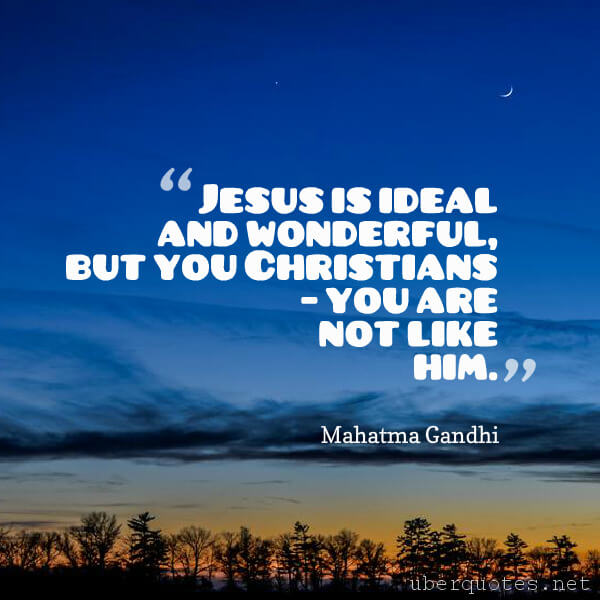 Religion quotes by Mahatma Gandhi, UberQuotes