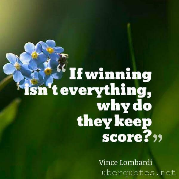Sports quotes by Vince Lombardi, UberQuotes